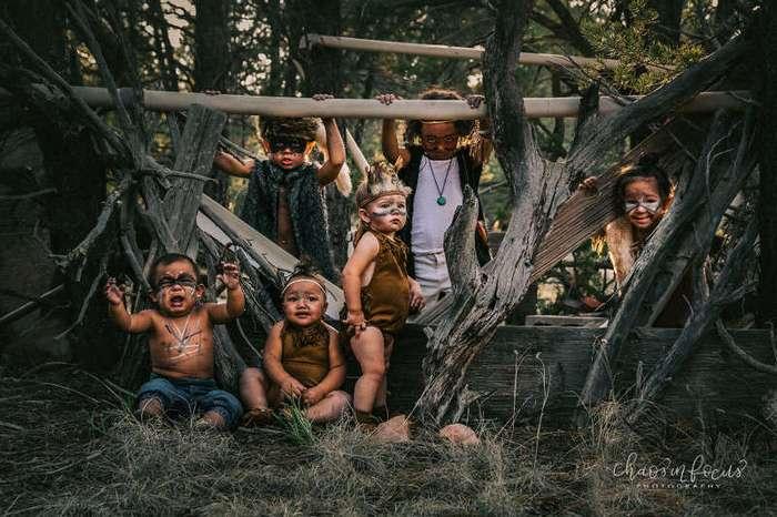 Не совсем потерянные дети (9 фото)