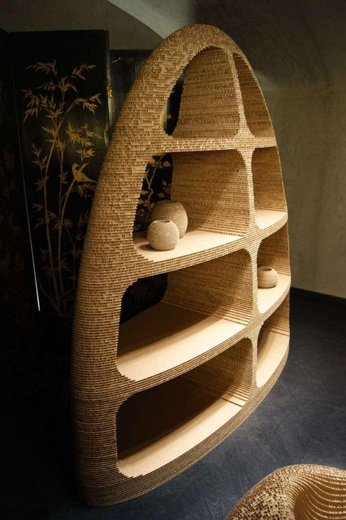 20 удивительных предметов мебели из картона (20 фото)