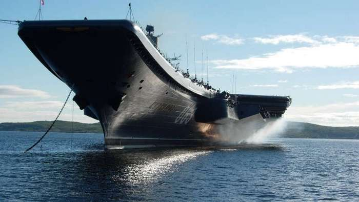В России построят тяжёлый атомный авианосец (5 фото)