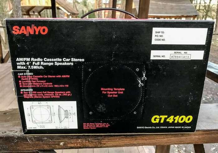Новая японская автомагнитола 80-х годов (20 фото)