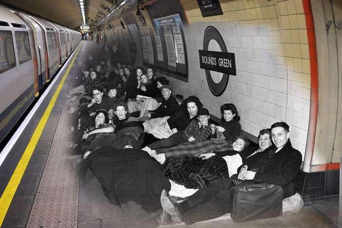 Самая длинная ночь в истории Британии (12 фото)