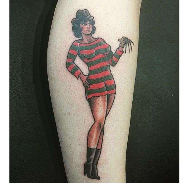 33 татуировки по мотивам любимых фильмов и мультфильмов