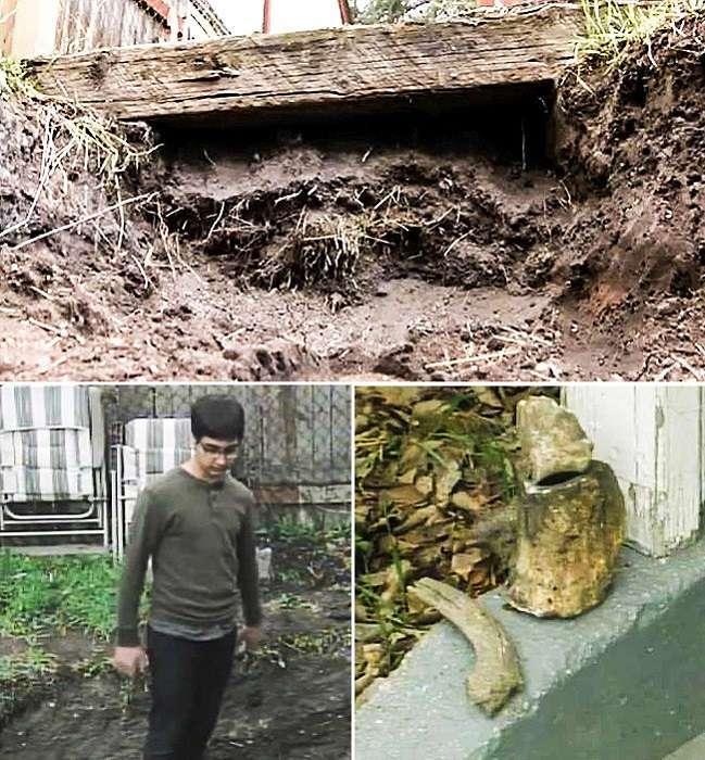 Удивительные находки, найденные в собственных дворах