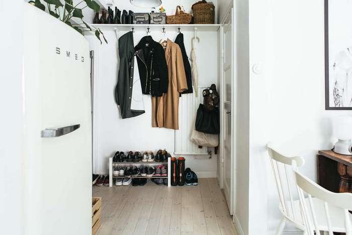 Интерьер стокгольмской квартиры площадью всего 33 кв. метра