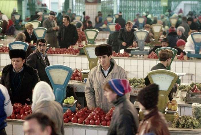Какими были рынки в СССР