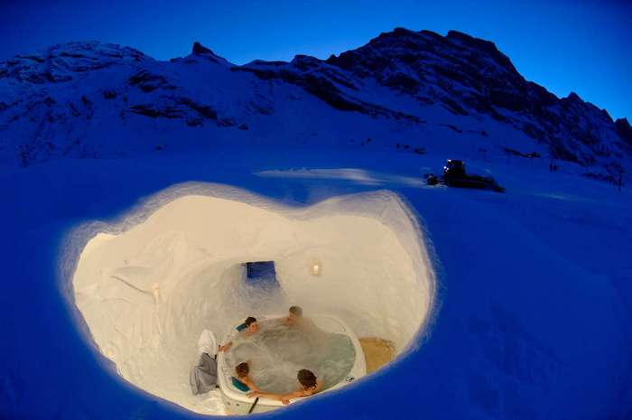 Полный релакс: горячие бассейны и ванны мира