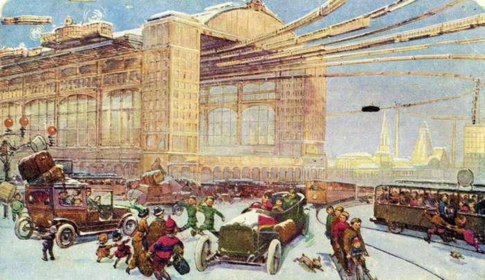 Какой представляли Москву в 23 веке