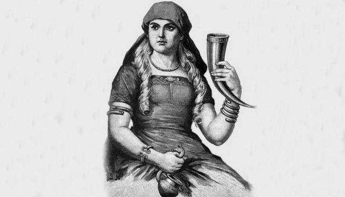 История питьевого рога
