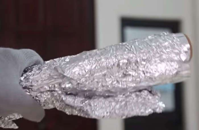 Что необычного можно сделать из фольги