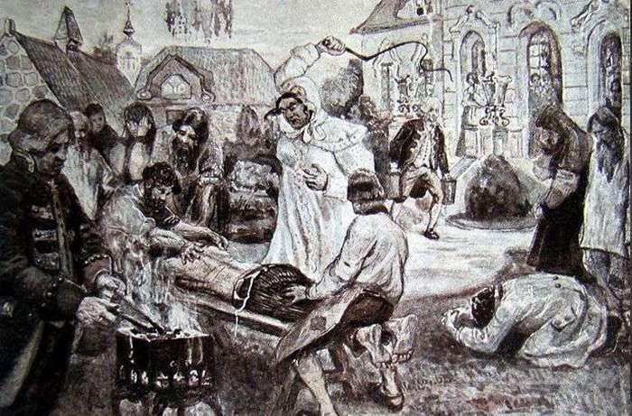 Кто и как издевался над крепостными крестьянами