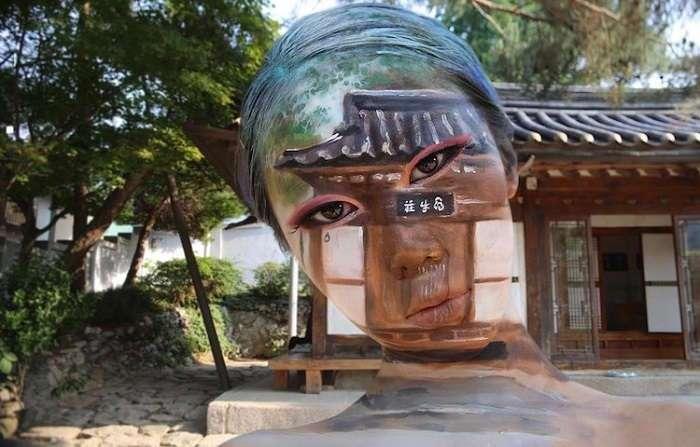Художник Дайн Юн – мастер иллюзий