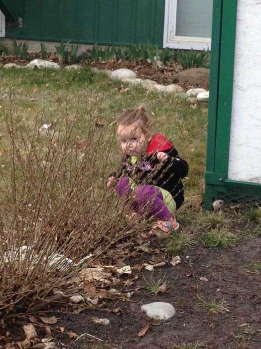 17 забавных детишек, которые обожают играть в прятки