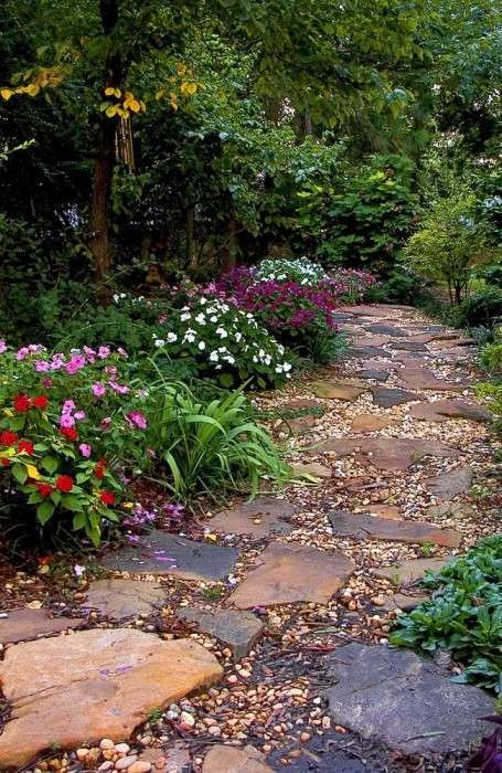 20 очаровательных садовых дорожек для оформления загородного участка