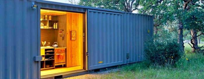Дом из контейнеров - дешевый и быстровозводимый вариант для дачи