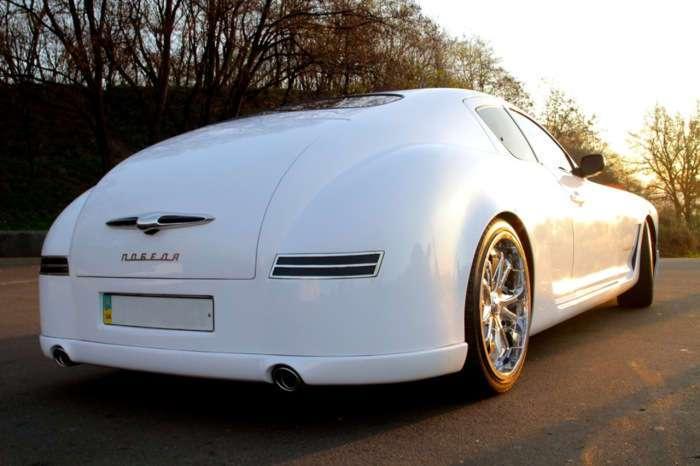 -Победа--купе: Киевлянин собрал в гараже собственную версию знаменитой машины