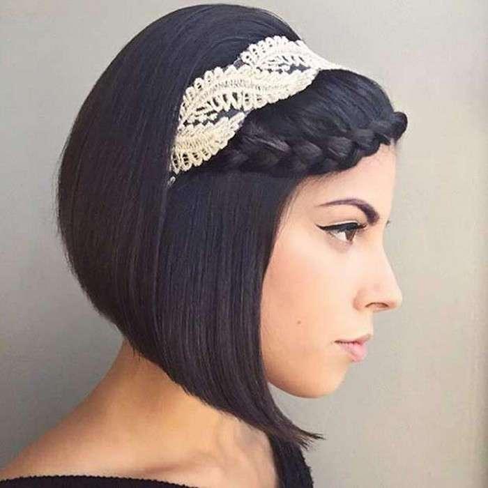 13 самых актуальных свадебных и выпускных причёсок для обладательниц коротких волос