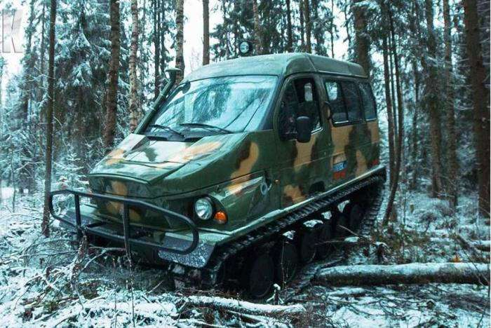 -Газель--вездеход: как популярный фургон стал идеальной машиной для охотников и рыболовов