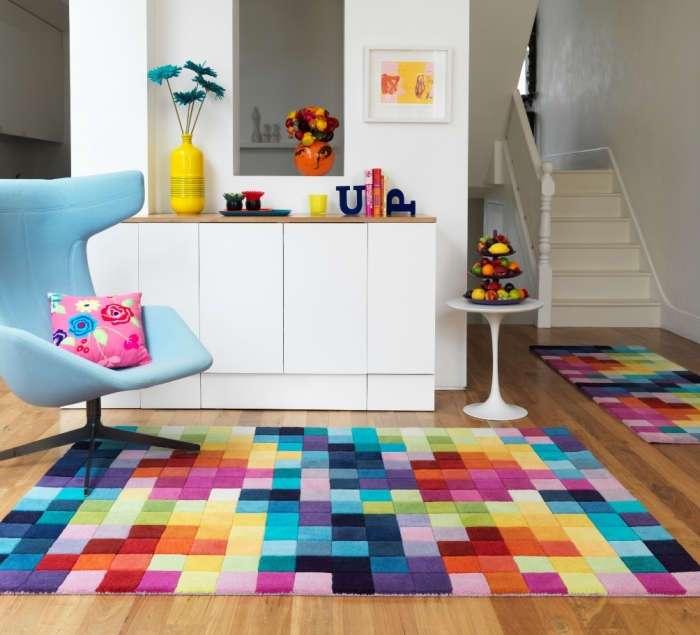 Оригинальные ковровые покрытия: 20 восхитительных способов создать уютную атмосферу в помещении