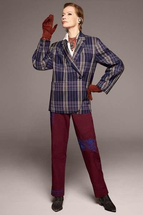 Модная пенсия: как 78-летняя супермодель стала лицом новой коллекции бренда Acne Studios