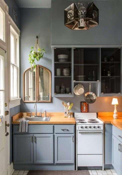 Оригинальные идеи дизайна маленькой кухни, которые вдохновляют на эксперименты