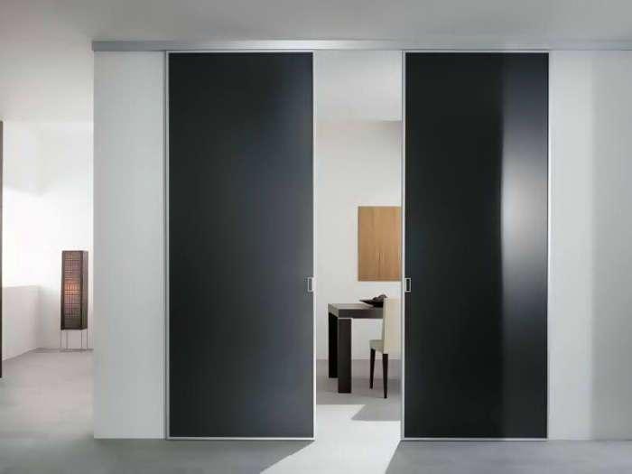 Инновационные примеры межкомнатных раздвижных дверей для малогабаритных квартир