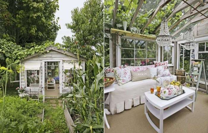 Очаровательные дамские домики, переделанные из гаражей