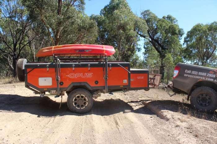 Дом-палатка на колесах, который гарантирует домашний комфорт на природе