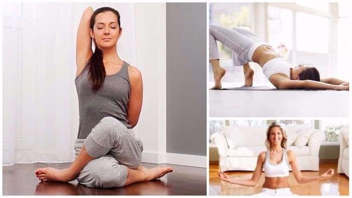 -Йога для ленивых-: 10 упражнений, которые избавят от хворей и подарят красивое тело