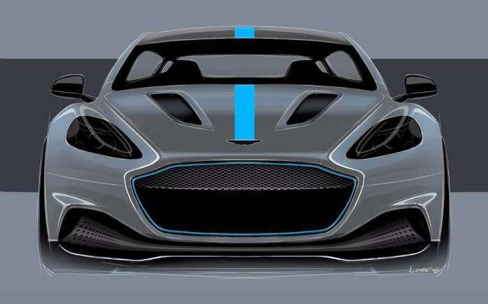 Aston Martin показал концепт своего первого настоящего электромобиля