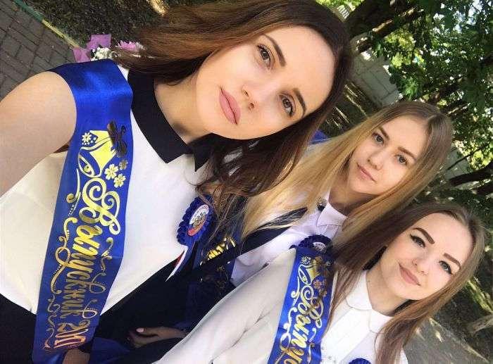 Выпускницы 2017 года (17 фото)