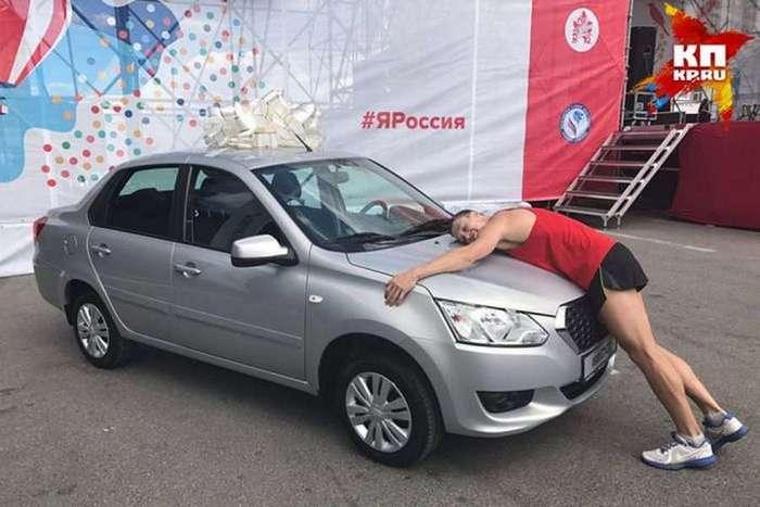 Николай Бурда: выиграл автомобиль в пятый раз (2 фото)