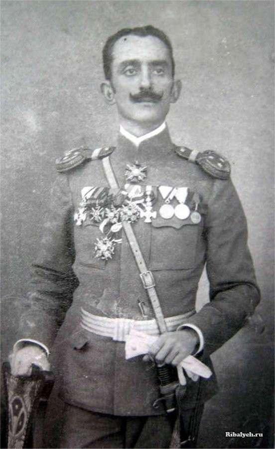 Александр Саичич черногорский богатырь против самурая