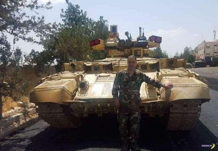 Сирия – полигон для Терминаторов
