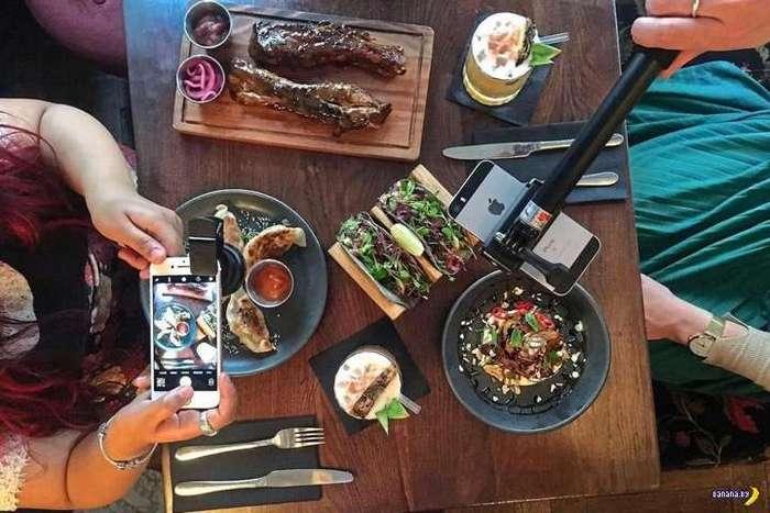 Ресторан предлагает наборы для фотографирования еды