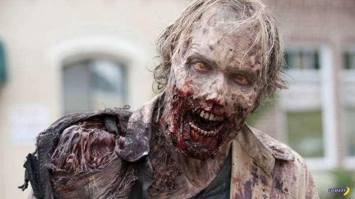 Секрет красоты зомби из -Ходячих мертвецов-