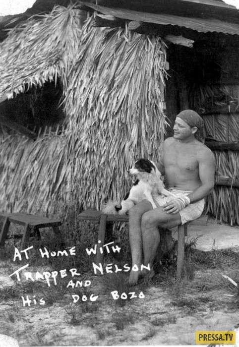 Траппер Нельсон - Тарзан из Флориды (8 фото)