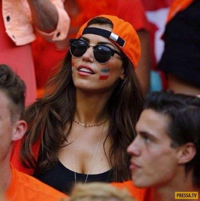 Красивые и позитивные девушки - футбольные болельщицы со всего мира (45 фото)
