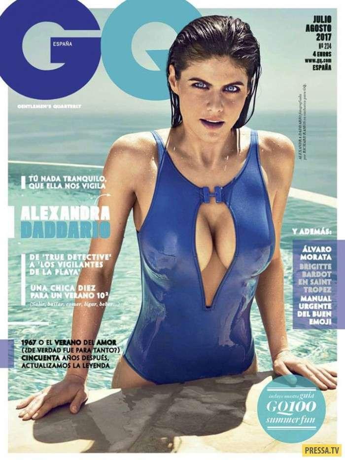 Александра Даддарио в новом номере испанского GQ (8 фото)