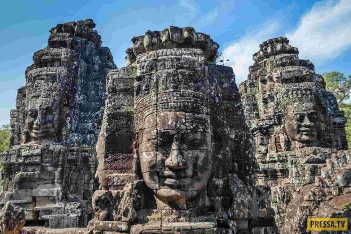 Полная загадок столица древних кхмеров Ангкор (9 фото)