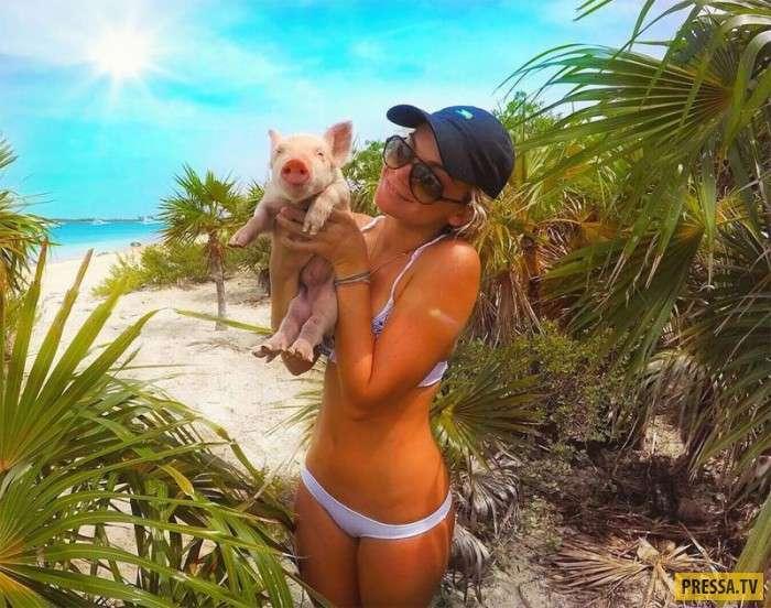 Живописный отдых на Багамах (27 фото)