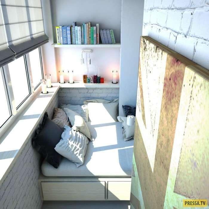 Креативные идеи для стильного балкона (21 фото)