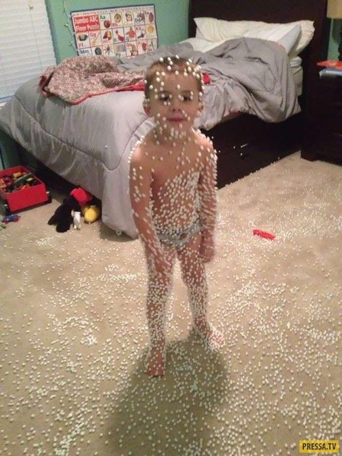 Вот что может произойти, когда ваш ребенок остался один в комнате (35 фото)