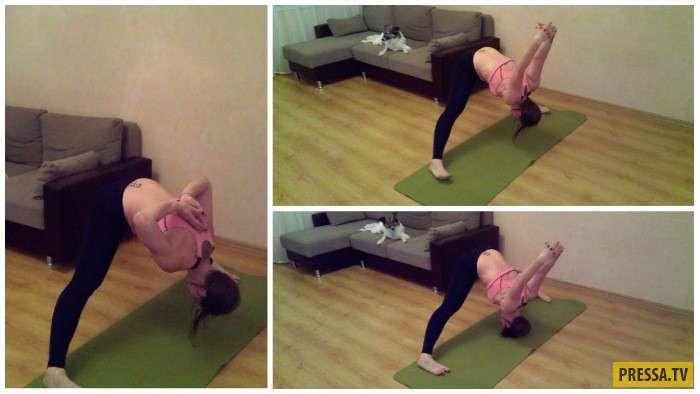 Чтобы не болели шея и спина. Простые и эффективные упражнения для тех, кто много сидит за компьютером (10 фото)