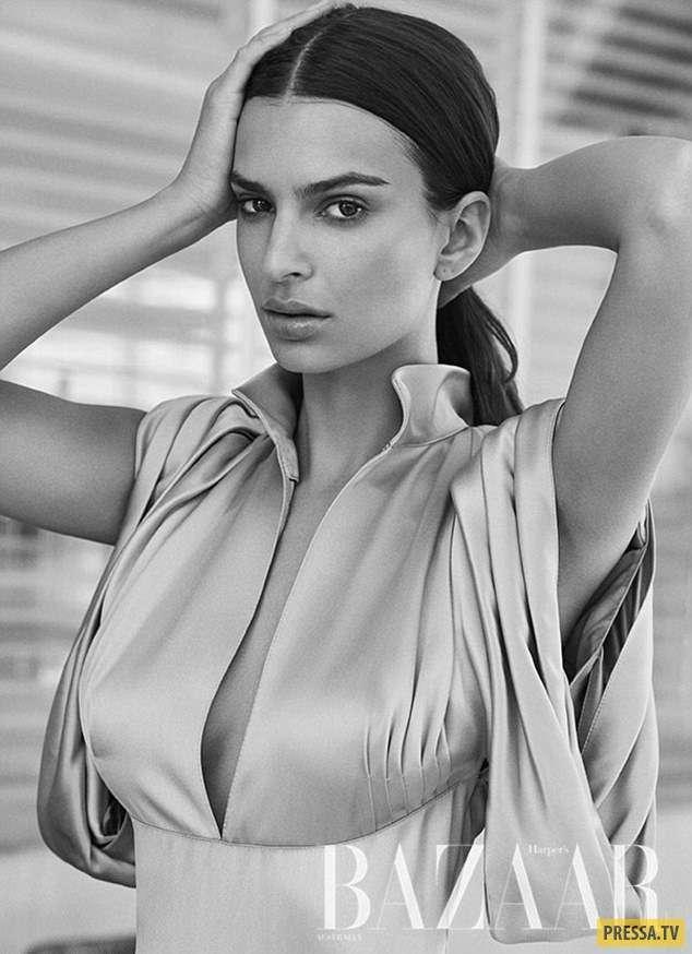 """Эмили Ратаковски в """"Harper&039;s Bazaar"""", Австралия, август 2017 (5 фото)"""