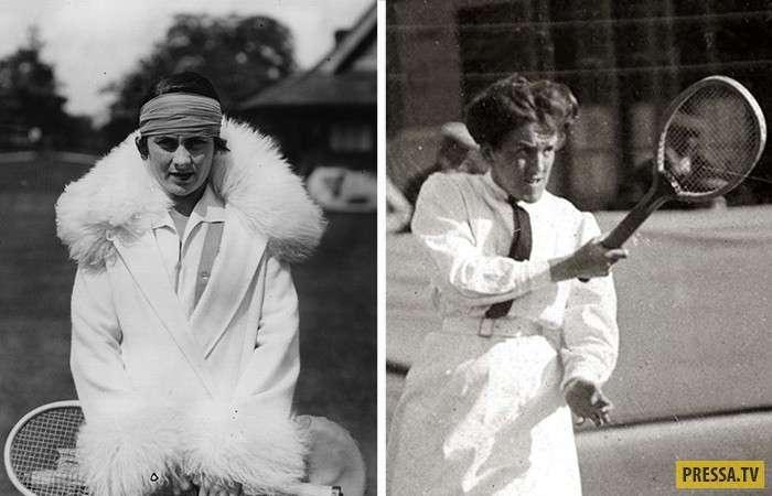 Как менялись наряды спортсменок на Уимблдонском турнире: от корсетов до мини юбок (17 фото)