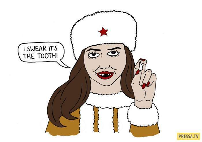 Русские поговорки глазами канадского художника (10 фото)