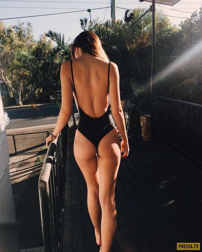 Красивые девушки вид сзади (50 фото)