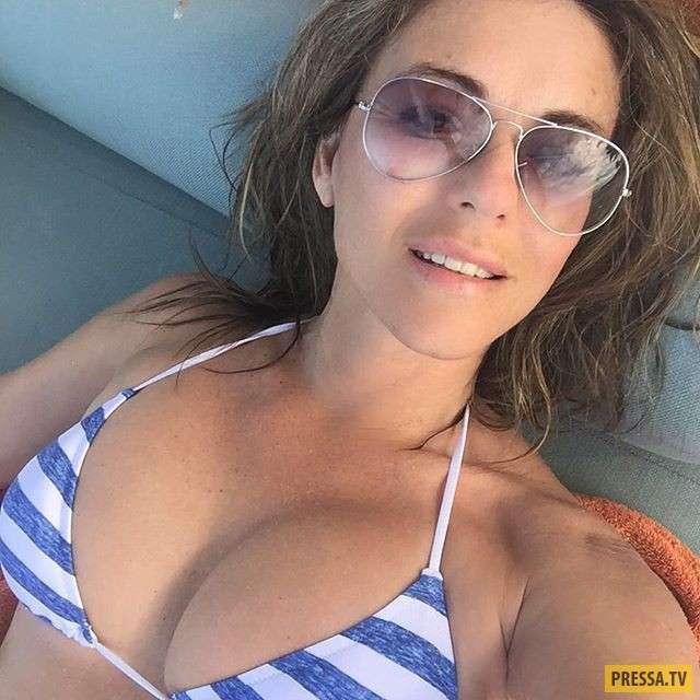 Красавица Элизабет Хёрли сразила наповал снимками в бикини (13 фото)