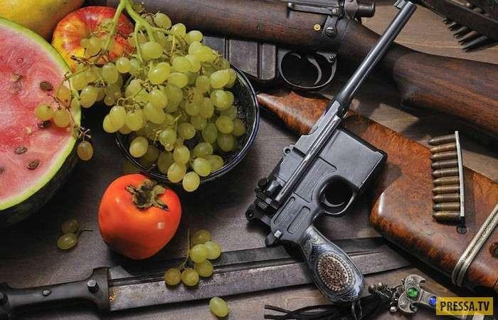Самое необычное комбинированное оружие: самострел + клинок (13 фото)