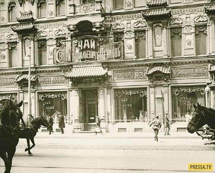 """История Москвы: """"Китайская шкатулка"""" - чайный дом на Мясницкой (15 фото)"""